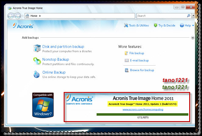 Acronis True Image Home 2012 Keygen Netload Filesonic Hotfile ...