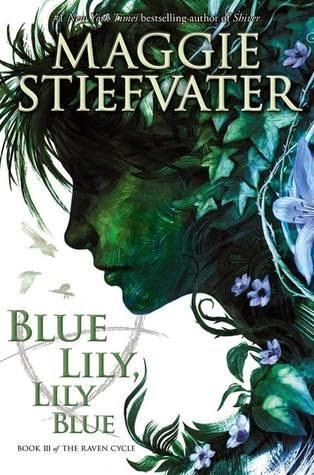 Blue Lily, Lily Blue book cover