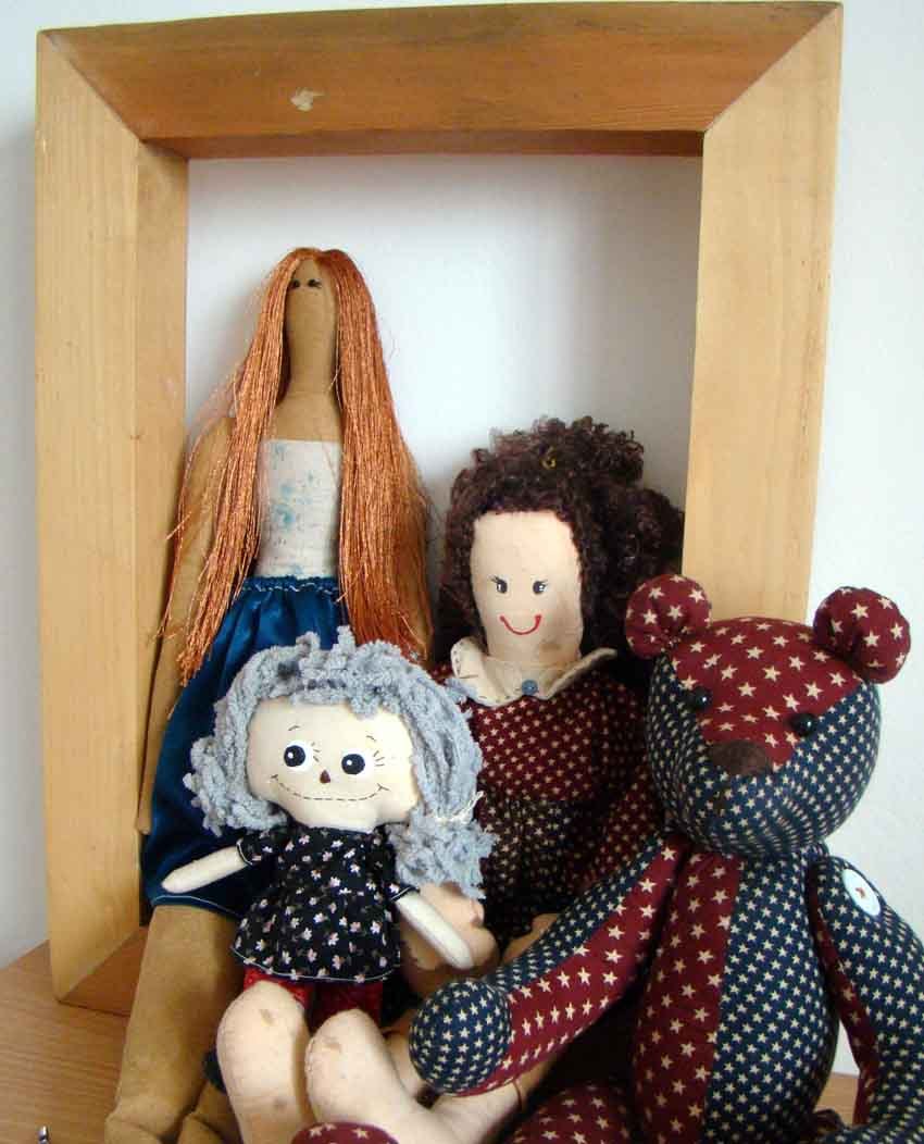how to make a tilda doll stand