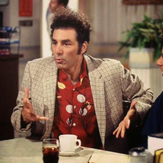 an analysis of cosmo kramer in the sitcom jerry seinfeld