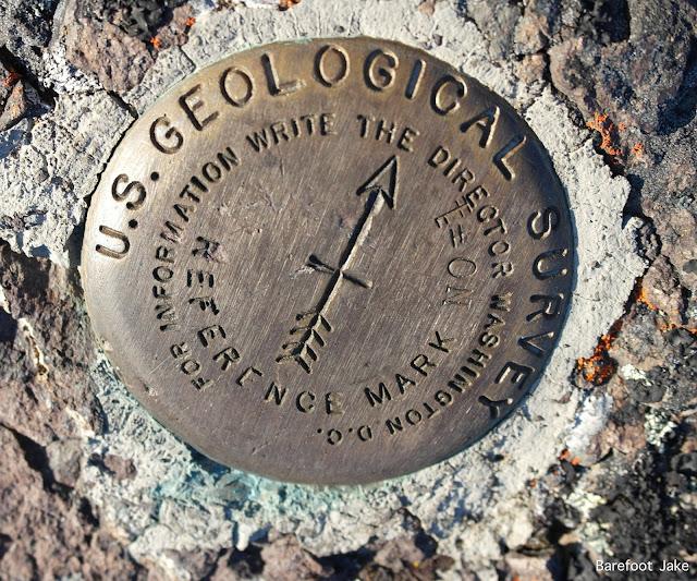 Tyler Peak summit