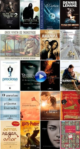 Filmes & Livros - Obras já disponíveis