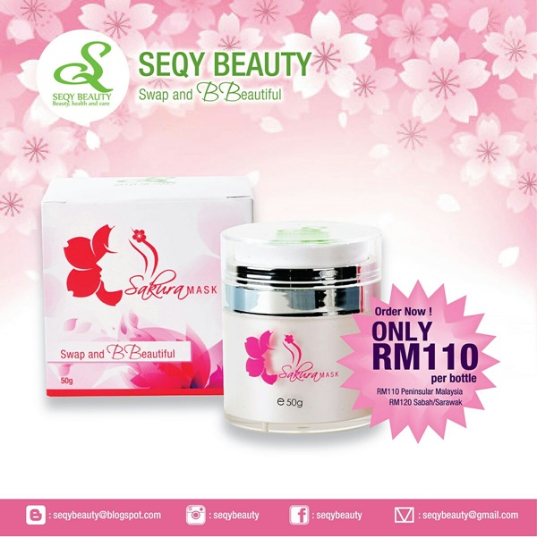 Sakura Mask by Seqy Beauty