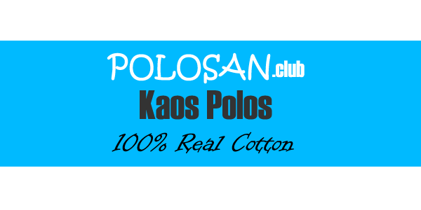 Kaos Polo Shirt Warna Ungu