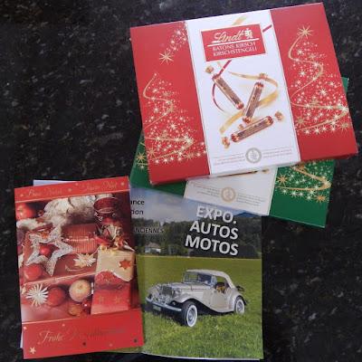 Chocolates suíços para adoçar a passagem do ano.