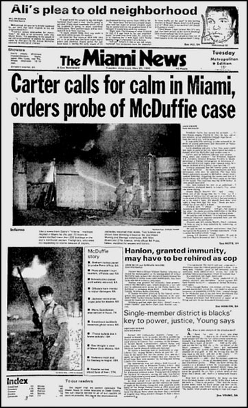 mcduffie riots