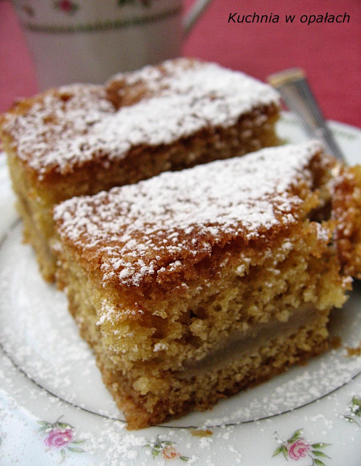 Kuchnia W Opalach Ciasto Z Gruszkami I Imbirem