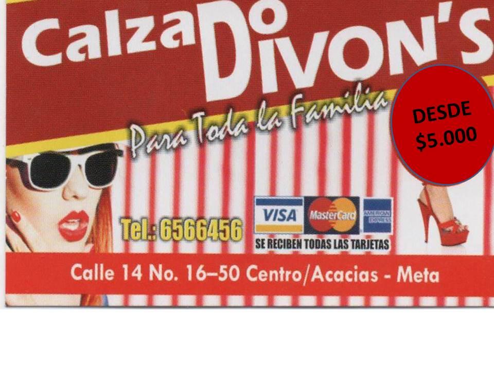 CALZADO DESDE $ 5.000