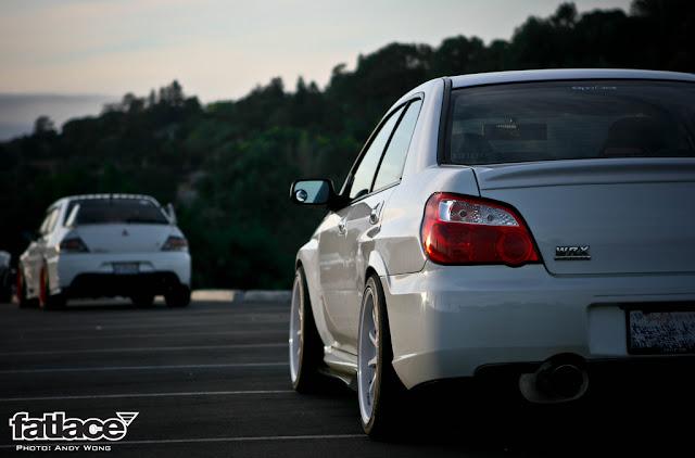 Mitsubishi Lancer Evolution & Subaru Impreza II WRX GD japoński sportowy sedan AWD tuning kultowy znany