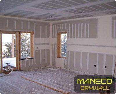 Maneco Drywall - Servicios generales