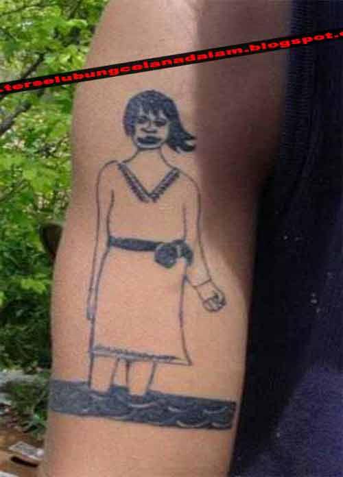 Foto Tattoo Permanen Yang Salah Cetak