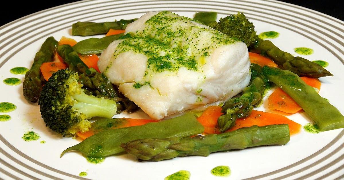Cocinar para los amigos merluza con verduras al vapor for Cocinar para los amigos
