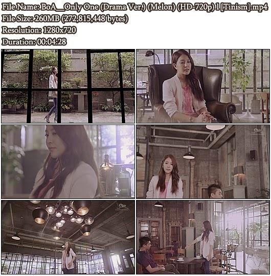 Download MV BoA - Only One (Drama Version) (Melon HD 720p)