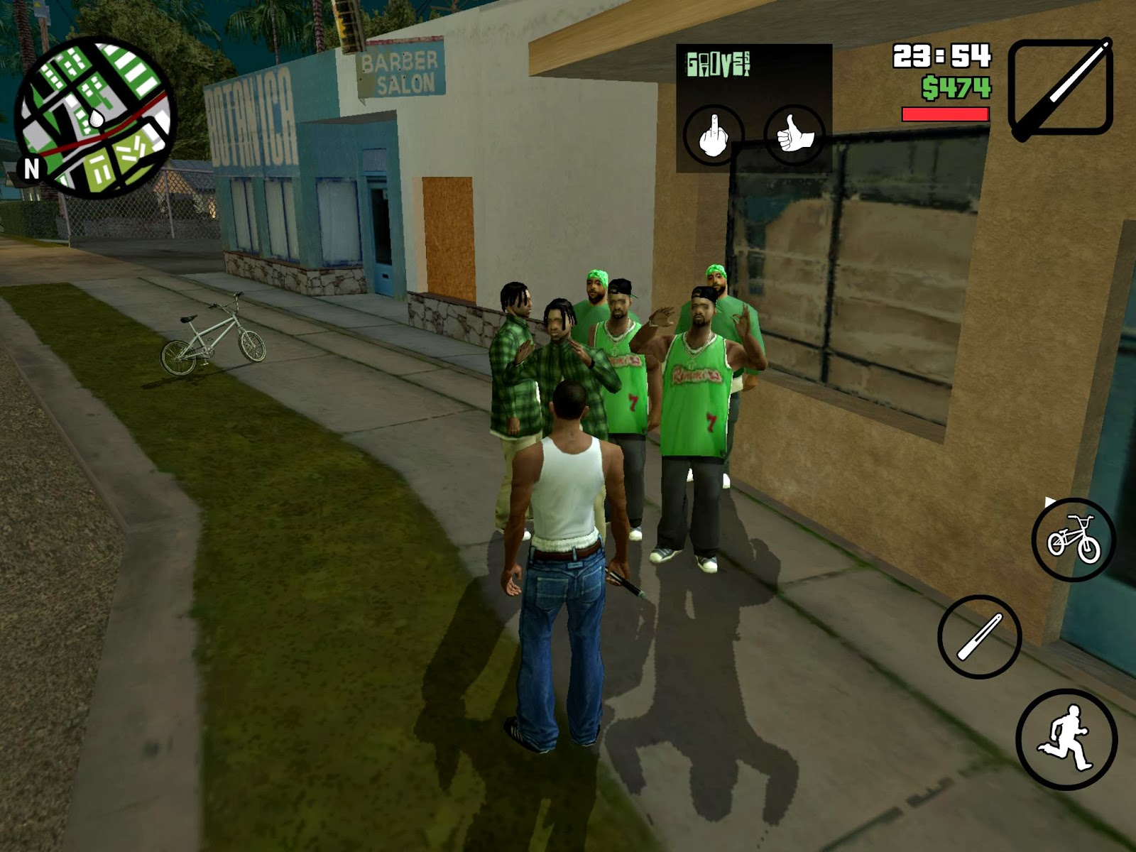 GTA SAN ANDREAS ANDROID CHEAT MOD APK (Unlimited Ammo+GOD