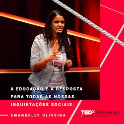 Meu Talk no TEDxBlumenau - Conheça minha história!