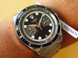 TUDOR HERITAGE BLACK GREY DIAL CHRONOGRAPH - AUTOMATIC