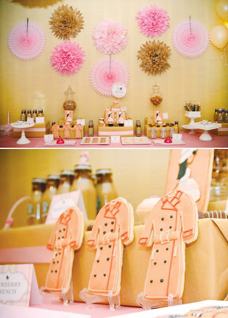 Burberry Inspired Baby Shower