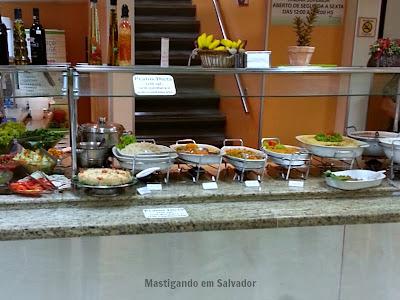 Espaço Natural Restaurante: Buffet