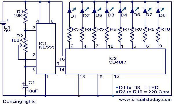 sekedar berbagi ilmu Rangkaian LED sederhana