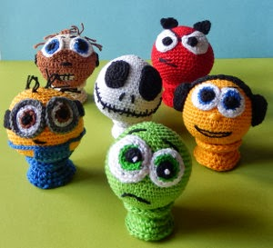 Free Amigurumi Ball Pattern : 2000 Free Amigurumi Patterns: Juggling Balls