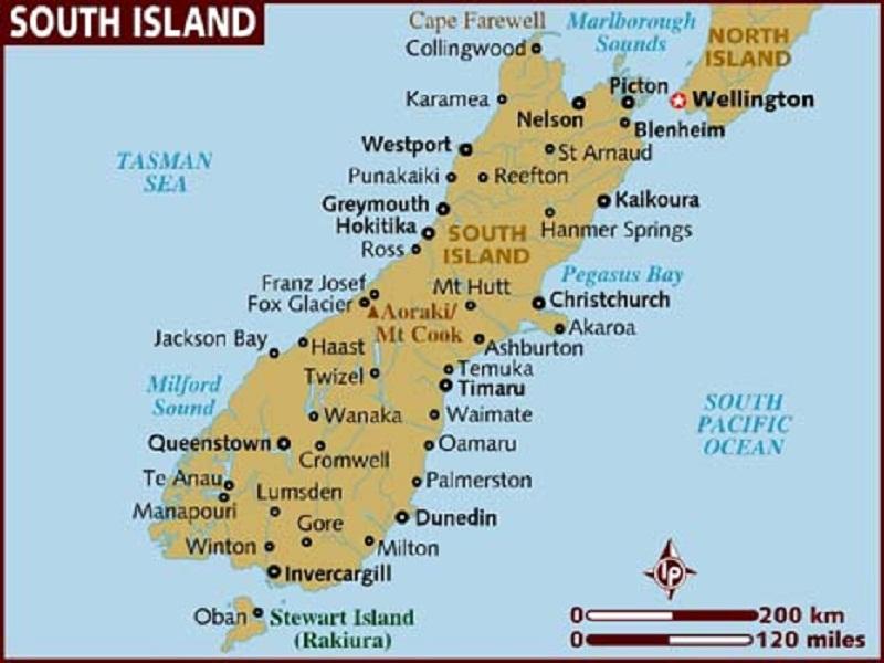 New Zealand South Island Climate