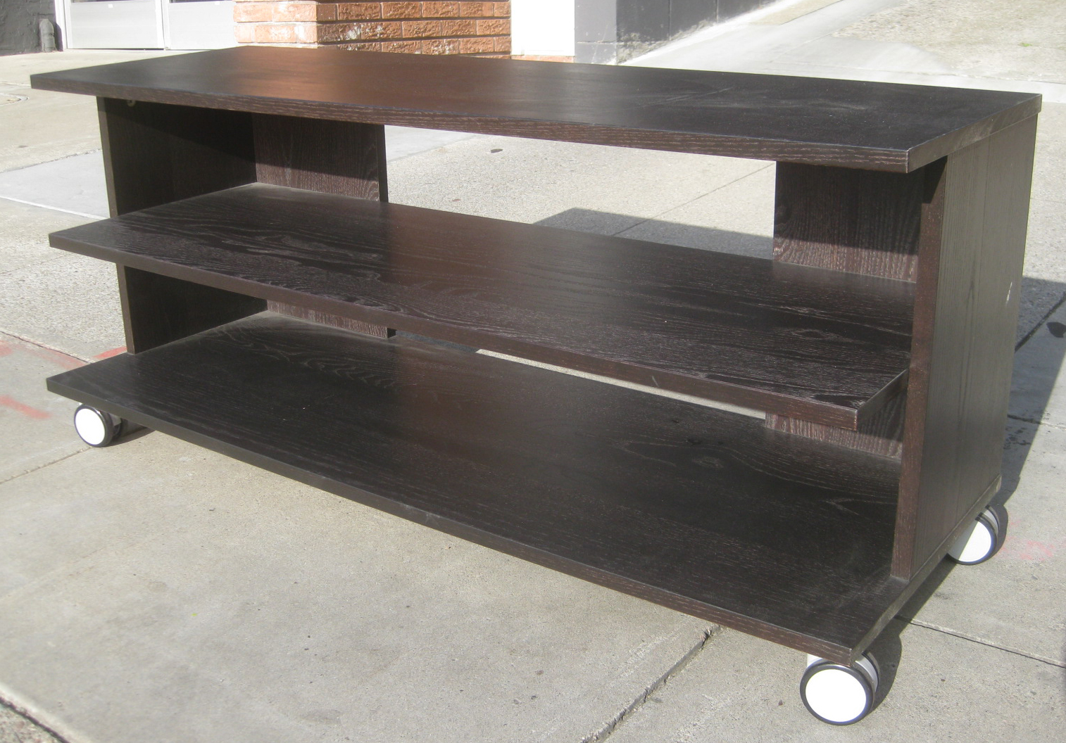 Uhuru Furniture Collectibles Sold Rolling Tv Stand 45