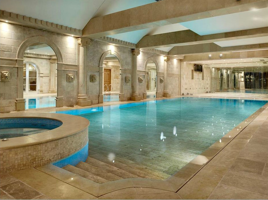 No Luxury Mansion Is Complete Without A Private Indoor Swimming Pool For  Year Round Relaxation! Here Are A Few Design Ideas From Modern Elegance To  European ...
