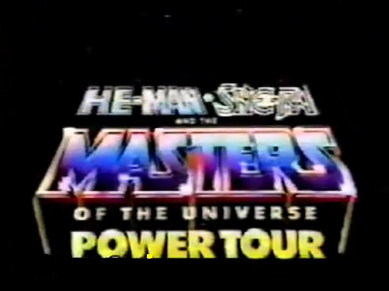 THE MASTERS OF THE UNIVERSE POWER TOUR
