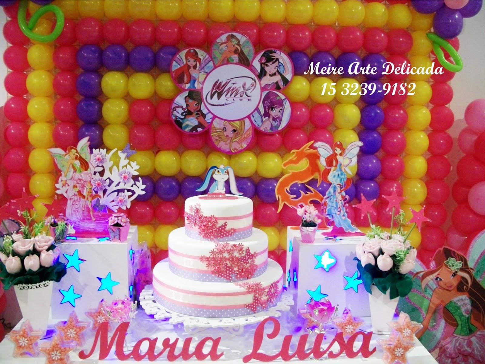 decoracao festa winx:Meire Arte Delicada: Winx Clean!