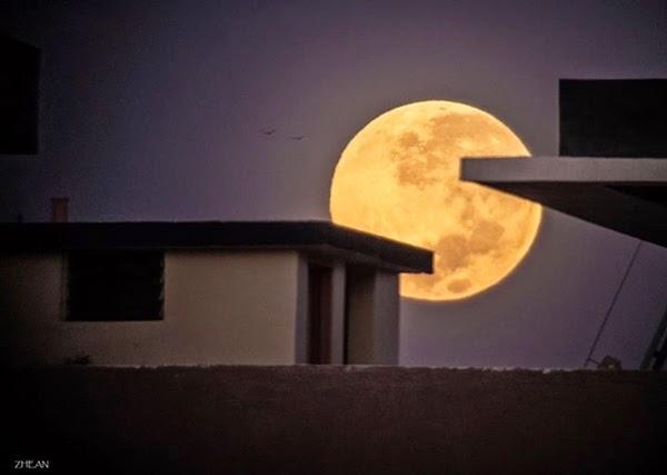 """Super Moon"" Terakhir di Musim Panas Muncul Selasa Pekan Ini"