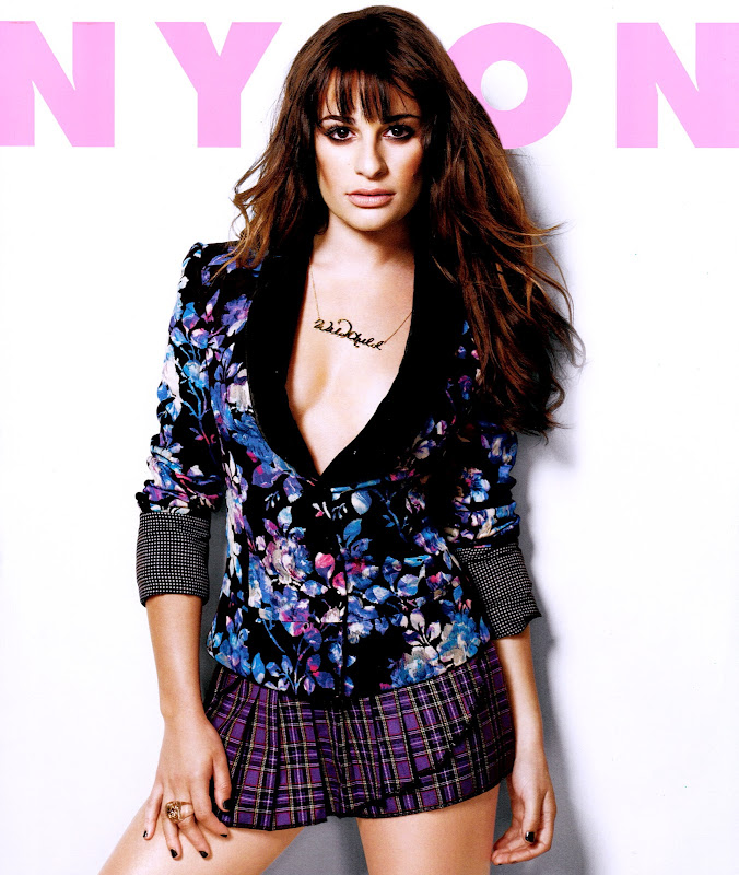 Lea Michele in Nylon Magazine September 2012