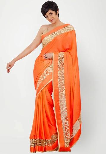 Mandira Bedi Formal Saree