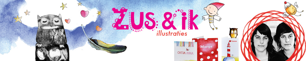 Zus&ik illustraties