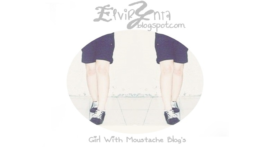 Girl With Mustache Blog's