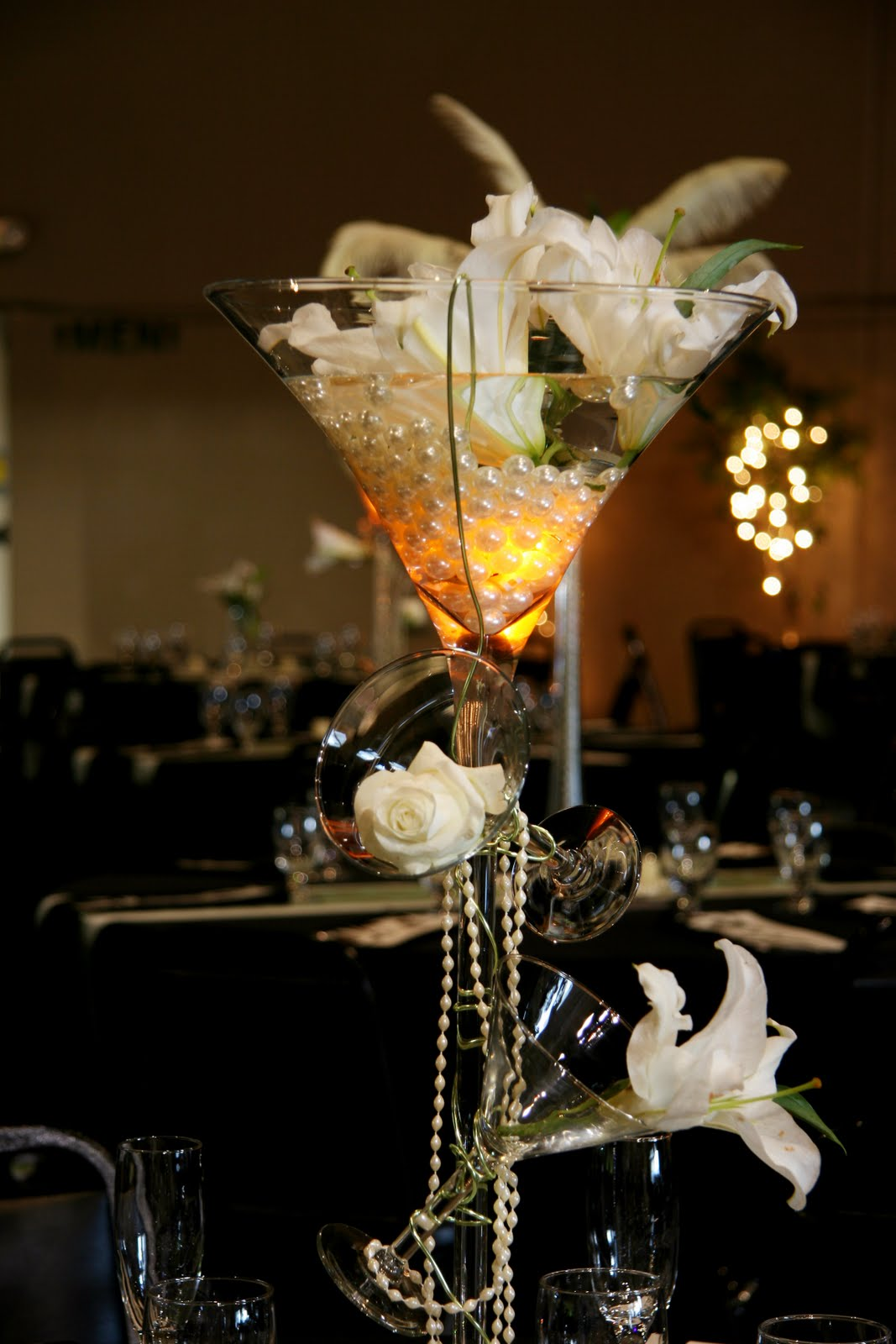 Planning tip choose multiple centerpiece heights