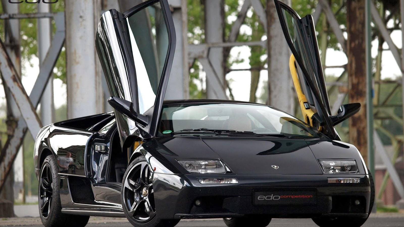 Lamborghini Diablo Negro New Car Modification