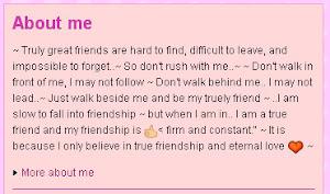 Kicsit Rólam ~ About Me ~