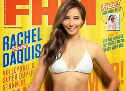 Rachel Anne Daquis is FHM Oct Cover Babe!