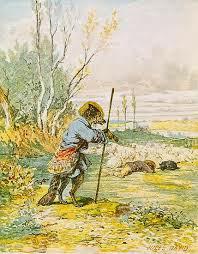 Fábula El lobo disfrazado de pastor, fabulas para niños con moraleja