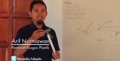 Bio Gas Plastik - Karya Yayasan Kanopi Indonesia