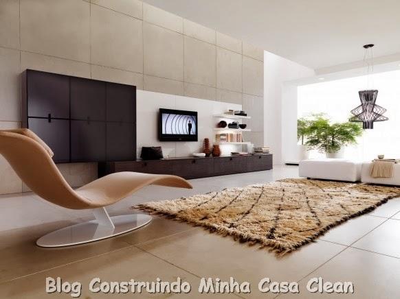 Construindo Minha Casa Clean: Home Theater! 20 Projetos de Salas ...