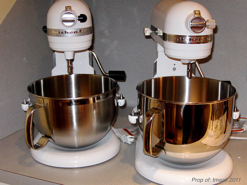 Kitchenaid Mixers Old And New