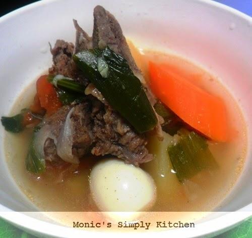 cara membuat sup tulang sapi