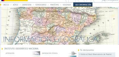IGN - Información Geográfica Nacional.