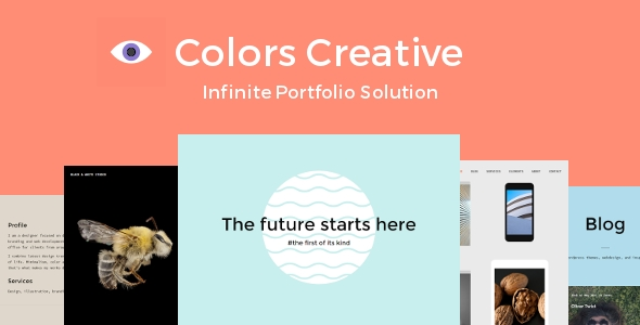 Colors Creative - Portfolio Wordpress Theme
