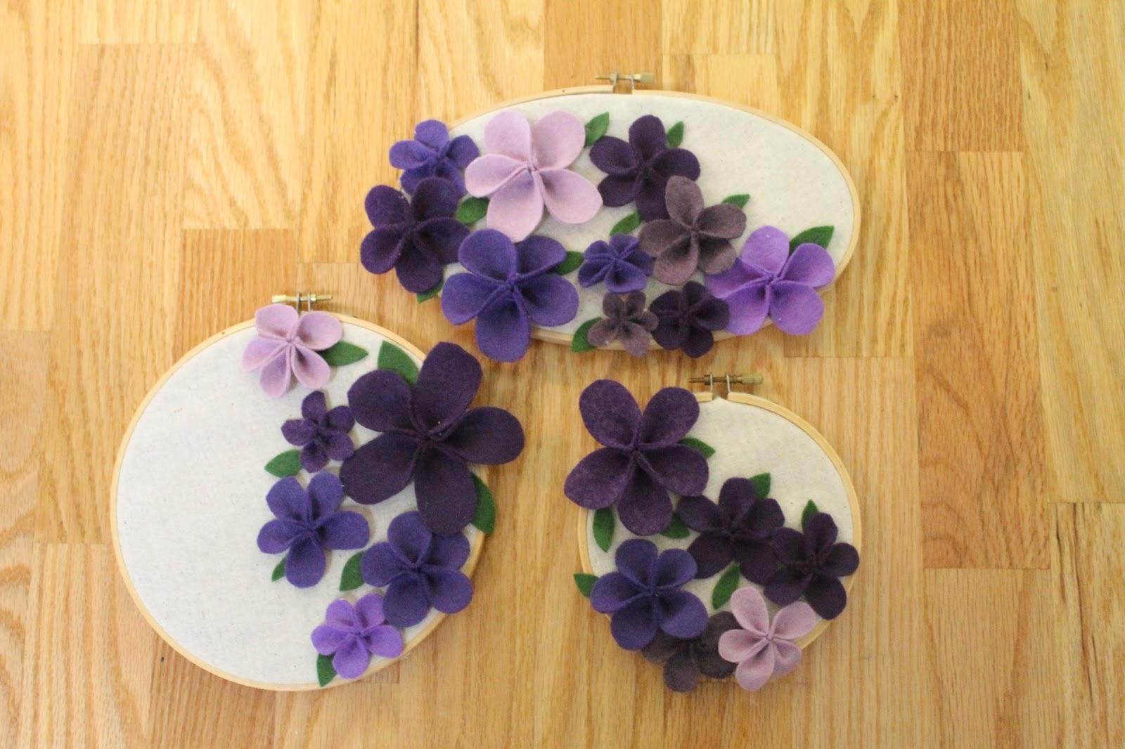 Цветочки из фетра своими руками мастер класс 44