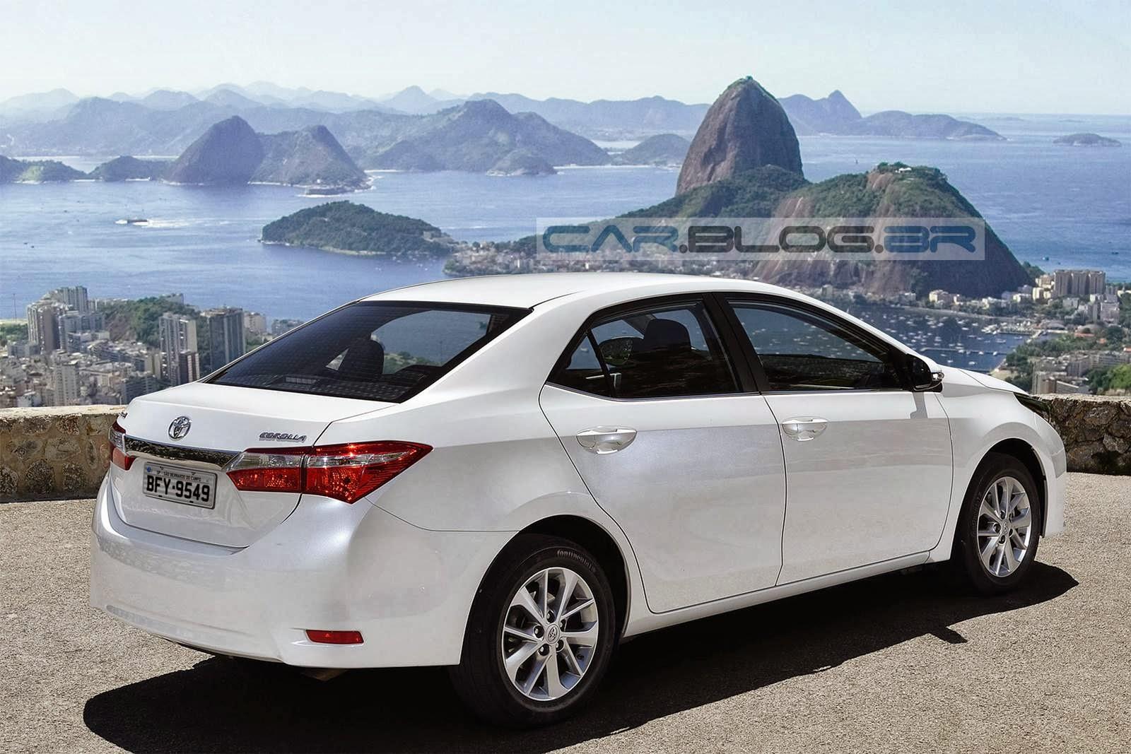 carro Corolla Toyota Brasil