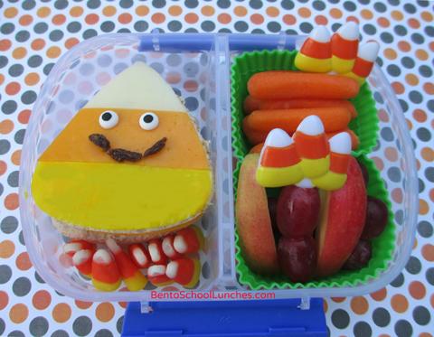 Halloween Happy Candy Corn Bento