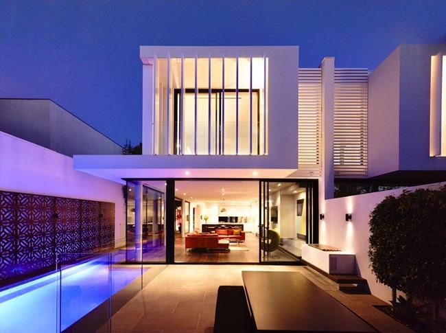 Casas minimalistas y modernas duplex minimalistas en for Casa minimal