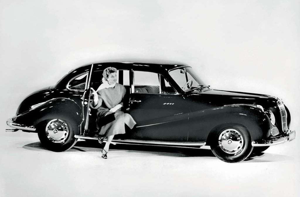 bmw fuel efficient car: 1952 BMW 501 Classic Car
